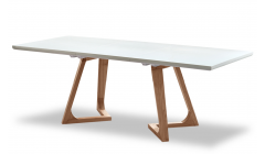 Стол белый обеденный
